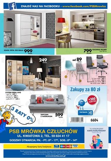 Gazetka promocyjna PSB Mrówka, ważna od 09.06.2018 do 23.06.2018.