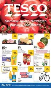 Gazetka promocyjna Tesco Hipermarket, ważna od 21.06.2018 do 27.06.2018.