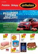 Gazetka promocyjna Arhelan - Piłkarska loteria Arhelanu - ważna do 24-06-2018