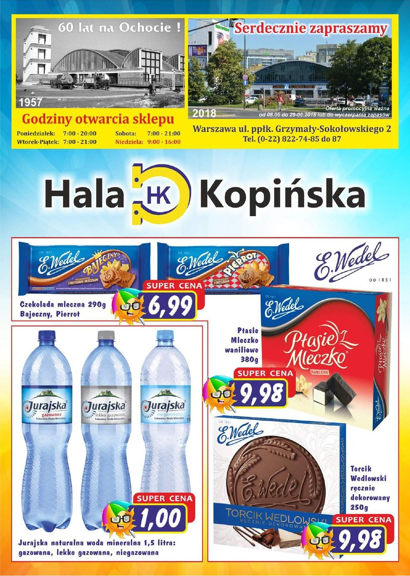 Hala Kopińska: 1 gazetka