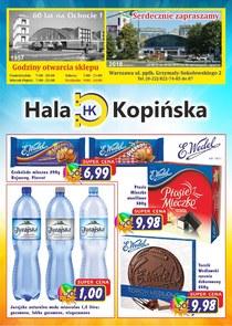 Gazetka promocyjna Hala Kopińska, ważna od 08.06.2018 do 29.06.2018.