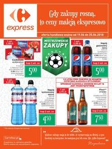 Gazetka promocyjna Carrefour Express, ważna od 19.06.2018 do 25.06.2018.
