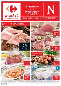 Gazetka promocyjna Carrefour Market, ważna od 19.06.2018 do 25.06.2018.