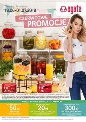 Gazetka promocyjna Agata  - Czerwcowe promocje - ważna od 18-06-2018