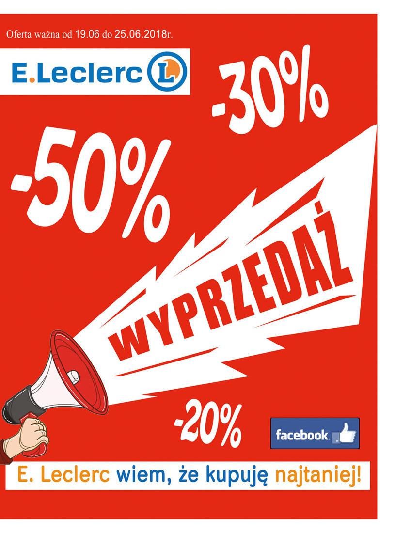 E.Leclerc: 16 gazetki