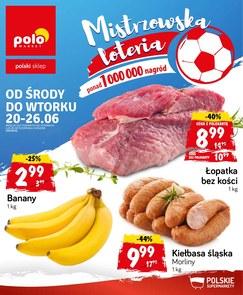 Gazetka promocyjna POLOmarket, ważna od 20.06.2018 do 26.06.2018.