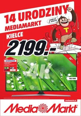 Gazetka promocyjna Media Markt - 14 urodziny Media Markt Kielce