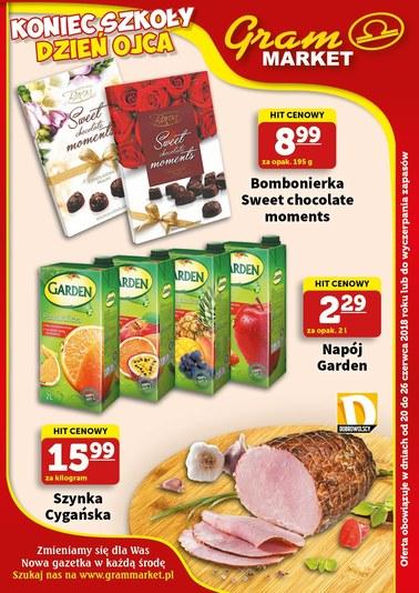 Gazetka promocyjna Gram Market, ważna od 20.06.2018 do 26.06.2018.