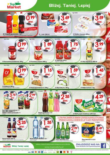 Gazetka promocyjna Top Market, ważna od 18.06.2018 do 24.06.2018.