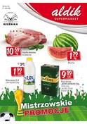 Gazetka promocyjna Aldik - Mistrzowskie promocje  - ważna do 27-06-2018