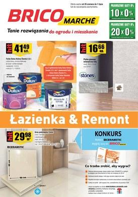 Gazetka promocyjna Bricomarche - Łazienka & Remont