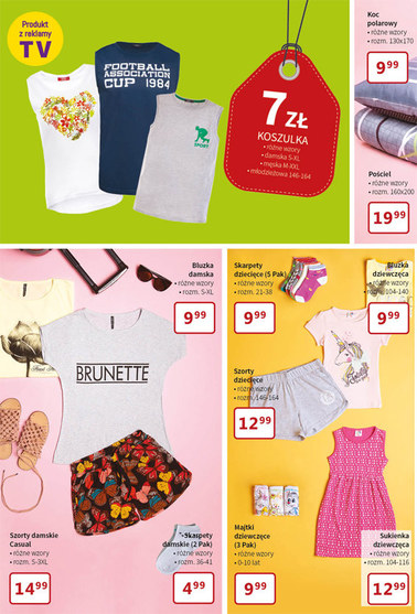 Gazetka promocyjna Textil Market, ważna od 20.06.2018 do 03.07.2018.