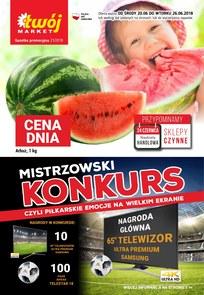 Gazetka promocyjna Twój Market, ważna od 20.06.2018 do 26.06.2018.