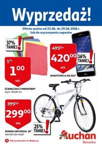 Gazetka promocyjna Auchan, ważna od 23.06.2018 do 29.06.2018.