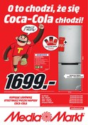 Gazetka promocyjna Media Markt - O to chodzi, że Cola-Cola chłodzi - ważna do 27-06-2018