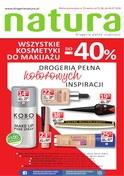 Gazetka promocyjna Drogerie Natura - Wszystkie kosmetyki do makijażu do -40% - ważna do 04-07-2018