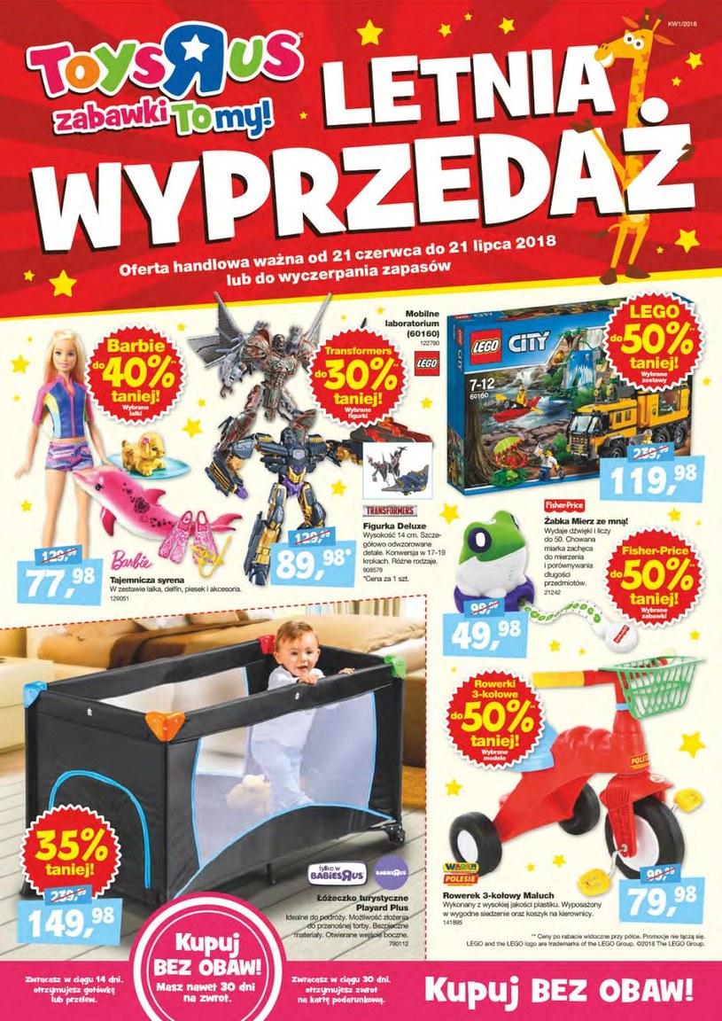 """Toys""""R""""Us: 2 gazetki"""