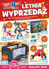 """Gazetka promocyjna Toys""""R""""Us, ważna od 21.06.2018 do 21.07.2018."""