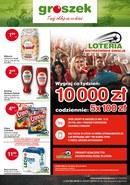 Gazetka promocyjna Groszek  - Loteria Mistrzowskie emocje