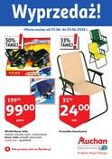 Gazetka promocyjna Auchan - Wyprzedaż ! - ważna do 29-06-2018