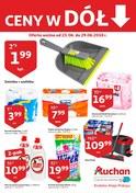 Gazetka promocyjna Auchan - Ceny w dół  - ważna do 29-06-2018