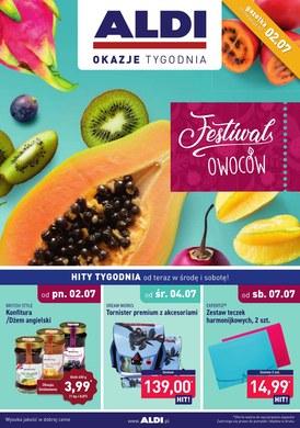 Gazetka promocyjna Aldi - Festiwal owoców