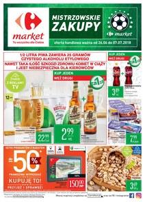 Gazetka promocyjna Carrefour Market, ważna od 26.06.2018 do 07.07.2018.