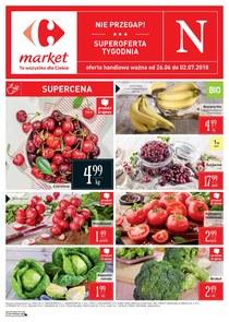 Gazetka promocyjna Carrefour Market, ważna od 26.06.2018 do 02.07.2018.