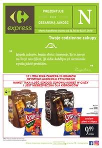 Gazetka promocyjna Carrefour Express, ważna od 26.06.2018 do 02.07.2018.