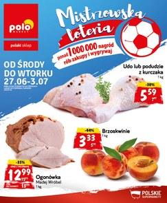 Gazetka promocyjna POLOmarket, ważna od 27.06.2018 do 03.07.2018.
