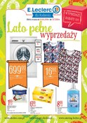 Gazetka promocyjna E.Leclerc - Lato pełne wyprzedaży  - ważna do 07-07-2018