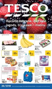 Gazetka promocyjna Tesco Hipermarket, ważna od 28.06.2018 do 04.07.2018.