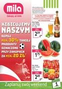 Gazetka promocyjna MILA - Kibicujemy naszym - ważna do 04-07-2018