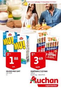 Gazetka promocyjna Auchan, ważna od 27.06.2018 do 03.07.2018.