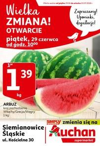 Gazetka promocyjna Auchan, ważna od 29.06.2018 do 03.07.2018.
