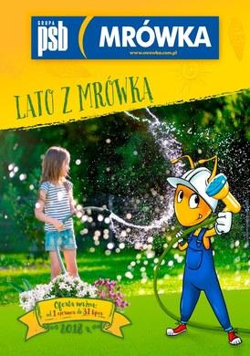 Gazetka promocyjna PSB Mrówka - Lato z Mrówką