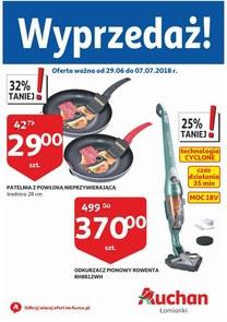 Gazetka promocyjna Auchan, ważna od 29.06.2018 do 07.07.2018.