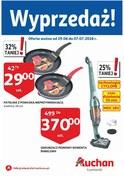 Gazetka promocyjna Auchan - Wyprzedaż - Łomianki - ważna do 07-07-2018