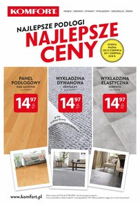 Gazetka promocyjna Komfort, ważna od 27.06.2018 do 07.08.2018.