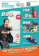 Gazetka promocyjna MaxElectro - Kup dziś zapłać za 3 miesiące