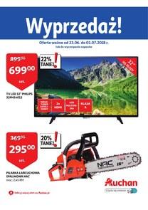 Gazetka promocyjna Auchan, ważna od 23.06.2018 do 01.07.2018.