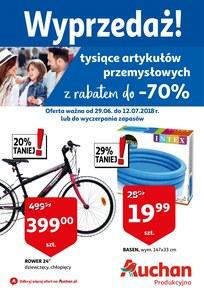 Gazetka promocyjna Auchan, ważna od 29.06.2018 do 12.07.2018.
