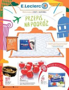 Gazetka promocyjna E.Leclerc, ważna od 03.07.2018 do 14.07.2018.