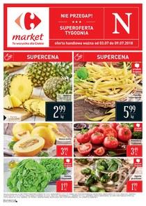Gazetka promocyjna Carrefour Market, ważna od 03.07.2018 do 09.07.2018.