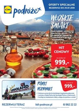 Gazetka promocyjna Lidl - Podróże - Włoskie smaki