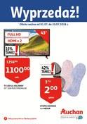 Gazetka promocyjna Auchan - Wyprzedaż - Płock - ważna do 10-07-2018