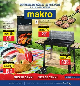 Gazetka promocyjna Makro Cash&Carry, ważna od 02.07.2018 do 16.07.2018.