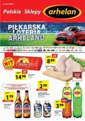 Gazetka promocyjna Arhelan - Piłkarska loteria Arhelanu  - ważna do 08-07-2018