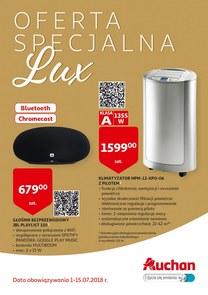 Gazetka promocyjna Auchan, ważna od 01.07.2018 do 15.07.2018.