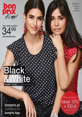 Gazetka promocyjna BonPrix - New Black&White